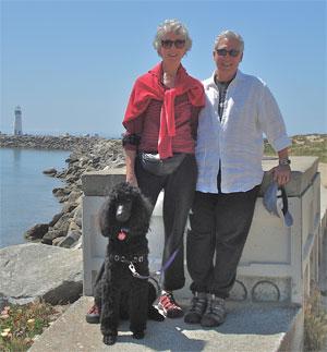 Matt and family at Santa Cruz harbor